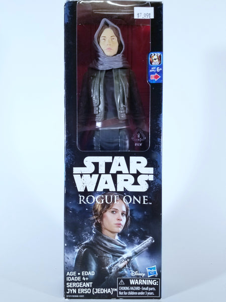 HASBRO STAR WARS ROGUE ONE - SERGEANT JYN ERSO (JEDHA) FIGURE