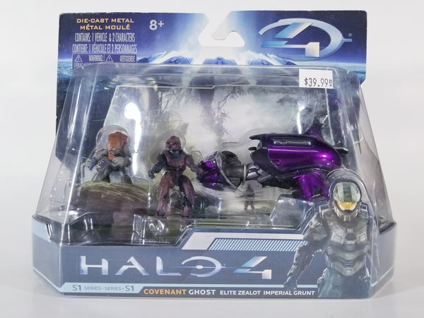 SERIES 1 HALO 4 COVENANT GHOST ELITE ZEALOT IMPERIAL GRUNT
