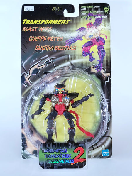 TRANSFORMERS: BEAST WARS - HEROIC MAXIMAL OPTIMUS MINOR TRANSMETALS 2