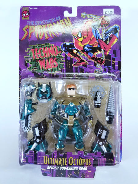 MARVEL COMICS THE SPECTACULAR SPIDER-MAN - ULTIMATE OCTOPUS SPIDER SQUASHING GEAR