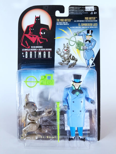 THE NEW ADVENTURES OF BATMAN - THE MAD HATTER WITH ROBOTIC RABBIT AND MIND-CONTROL TRANSMITTER