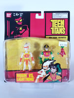 BANDAI TEEN TITANS - ROBIN VS LIGHTNING