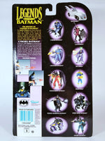"LEGENDS OF BATMAN - CYBORG BATMAN WITH LIGHT-UP EYE AND ""LASER"" WEAPON!"