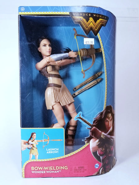 DC SUPER HEROES: BOW-WIELDING WONDER WOMAN ACTION FIGURE