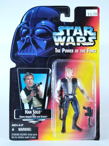 STAR WARS: POWER OF THE FORCE - HAN SOLO ACTION FIGURE