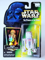 STAR WARS: THE POWER OF THE FORCE - VINTAGE R5-D4 ACTION FIGURE