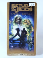 STAR WARS: RETURN OF THE JEDI SPECIAL EDITION VHS