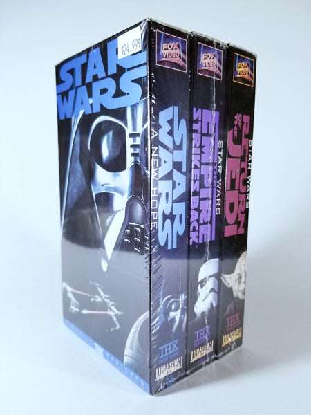 1995 STAR WARS TRILOGY VHS