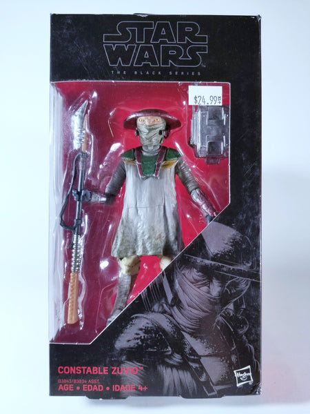 STAR WARS: THE BLACK SERIES - CONSTABLE ZUVIO ACTION FIGURE