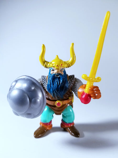 OFFICIAL ADVANCED DUNGEONS & DRAGONS - VINTAGE ELKHORN GOOD DWARF FIGHTER ACTION FIGURE