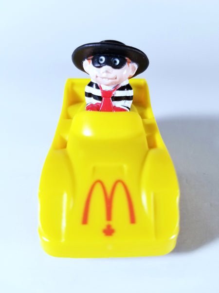 VINTAGE HAMBURGLAR IN TURBOMACS CAR