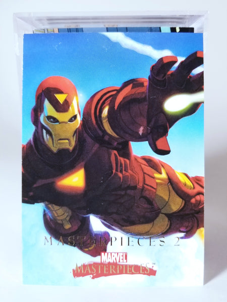 MARVEL MASTERPIECES TRADING CARDS LOT