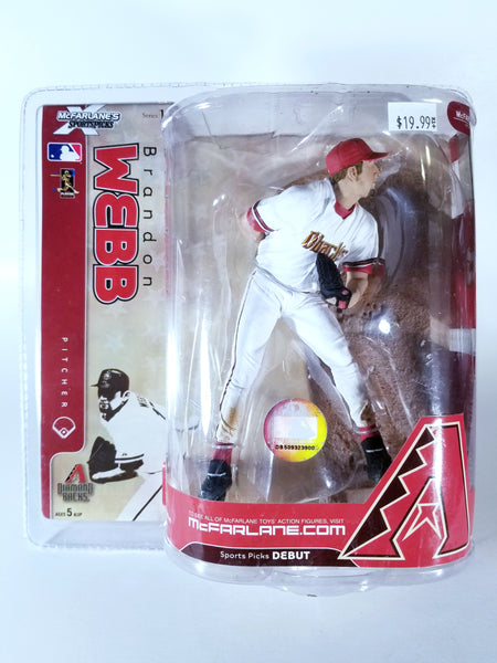 MCFARLANE'S SPORTSPICKS MLB SERIES 18 - BRANDON WEBB ACTION FIGURE