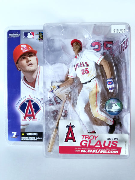 MCFARLANE'S SPORTSPICKS MLB SERIES 7 - TROY GLAUS ACTION FIGURE