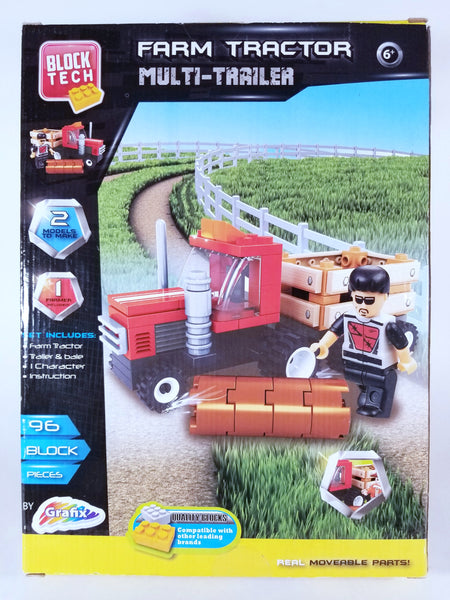 BLOCK TECH FARM TRACTOR MULTI-TRAILER