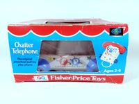 VINTAGE FISHER PRICE CHATTER TELEPHONE