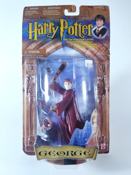 HARRY POTTER AND THE SORCERER'S STONE - GEORGE ACTION FIGURE