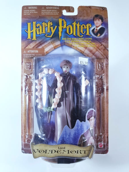 HARRY POTTER AND THE SORCERER'S STONE - LORD VOLDEMORT ACTION FIGURE