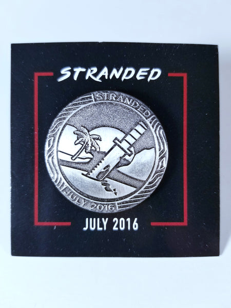 STRANDED JULY 2016 LOOTGAMING CRATE PIN