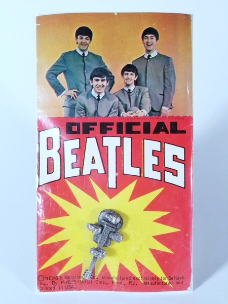 VINTAGE OFFICIAL BEATLES GUITAR TIE TACK