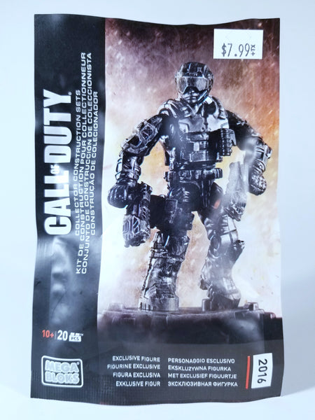 MEGA BLOKS CALL OF DUTY COLLECTOR CONSTUCTION SET