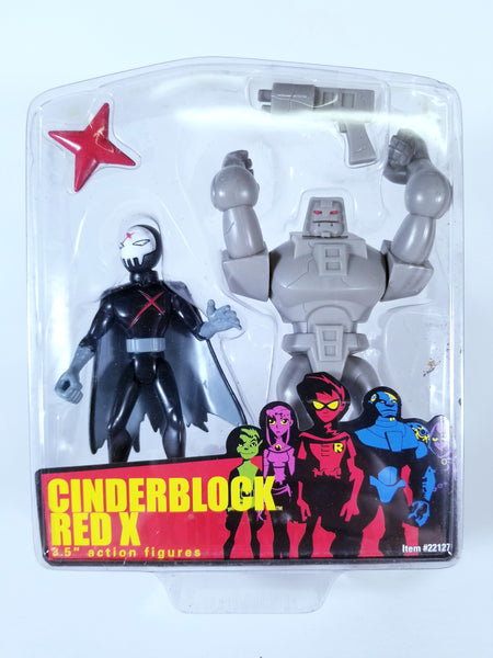 (OOB) Bandai Teen Titans - Cinderblock and Red X