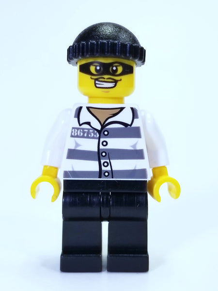 LEGO CITY - JAIL PRISONER MINIFIGURE
