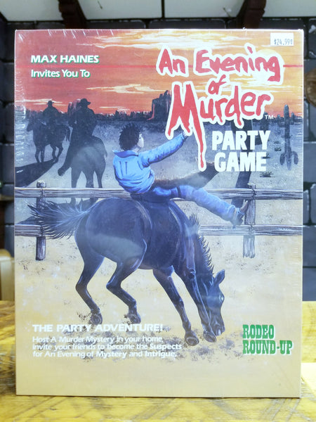 An Evening of Murder: Rodeo Round-up Party Game
