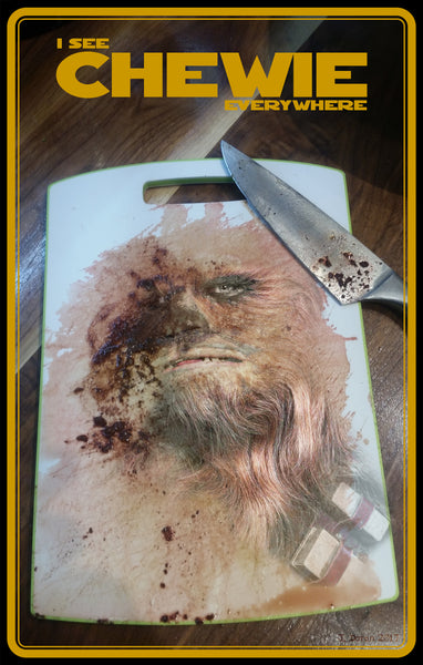 Chewie Everywhere - Poster