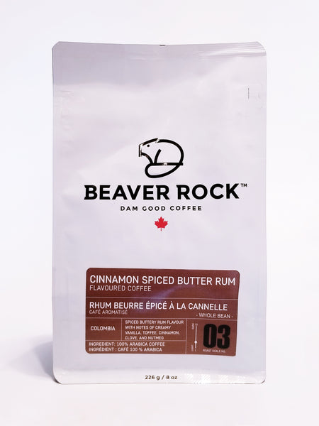 BEAVER ROCK - CINNAMON SPICED BUTTER RUM