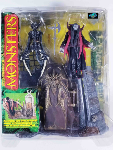 1997 MONSTERS MCFARLANE TOYS - SERIES 1 DRACULA PLAYSET
