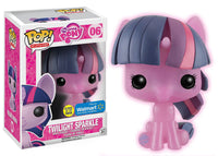 MY LITTLE PONY FUNKO POP! TWILIGHT SPARKLE #06 GLOWS IN THE DARK WALMART EXCLUSIVE VINYL FIGURE