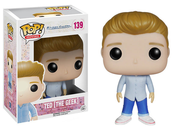 SIXTEEN CANDLES FUNKO POP! TED (THE GEEK) #139 VINYL FIGURE