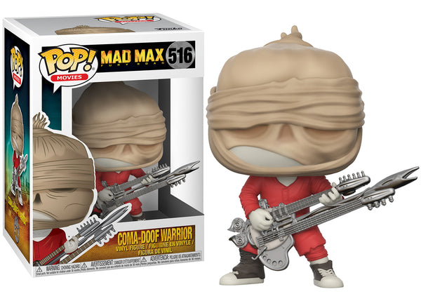 MAD MAX FURY ROAD FUNKO POP! COMA-DOOF WARRIOR #516 VINYL FIGURE