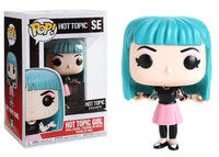 HOT TOPIC FUNKO POP! HOT TOPIC GIRL SE HOT TOPIC EXCLUSIVE VINYL FIGURE