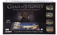 4D CITYSCAPE GAME OF THRONES WESTEROS AND ESSOS PUZZLE