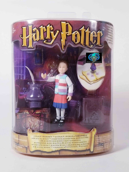"2001 MATTEL HARRY POTTER: GINNY WEASLEY 3"" MAGICAL MINIS"