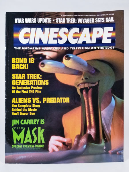 CINESCAPE: THE MAGAZINE OF MOVIES AND TELEVISION ON THE EDGE