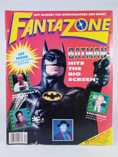FANTAZONE MAGAZINE: 1ST ISSUE COLLECTOR'S EDITION
