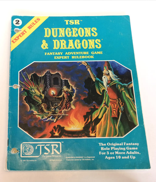 Dungeons and Dragons Expert Rules Book 2
