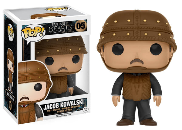 FANTASTIC BEASTS AND WHERE TO FIND THEM FUNKO POP! JACOB KOWALSKI #05 VINYL FIGURE
