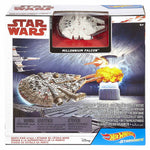 HOT WHEELS STARSHIPS: STAR WARS MILLENNIUM FALCON DEATH STAR ATTACK