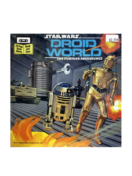 STAR WARS: DROID WORLD THE FURTHER ADVENTURES BOOKLET