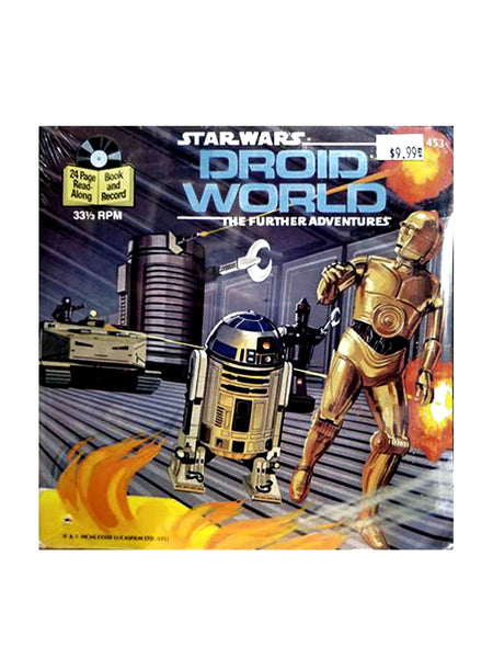 STAR WARS: DROID WORLD THE FURTHER ADVENTURES RECORD PLUS STORYBOOK