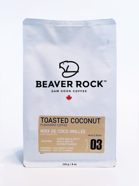 BEAVER ROCK - TOASTED COCONUT FLAVOURED COFFEE