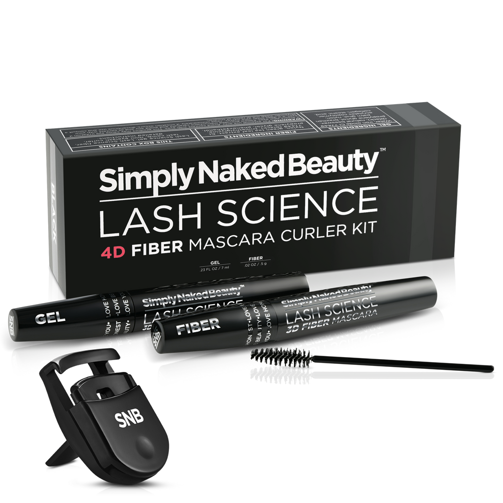 Lash Science 4D Fiber Mascara Curler Kit - Simply Naked Beauty