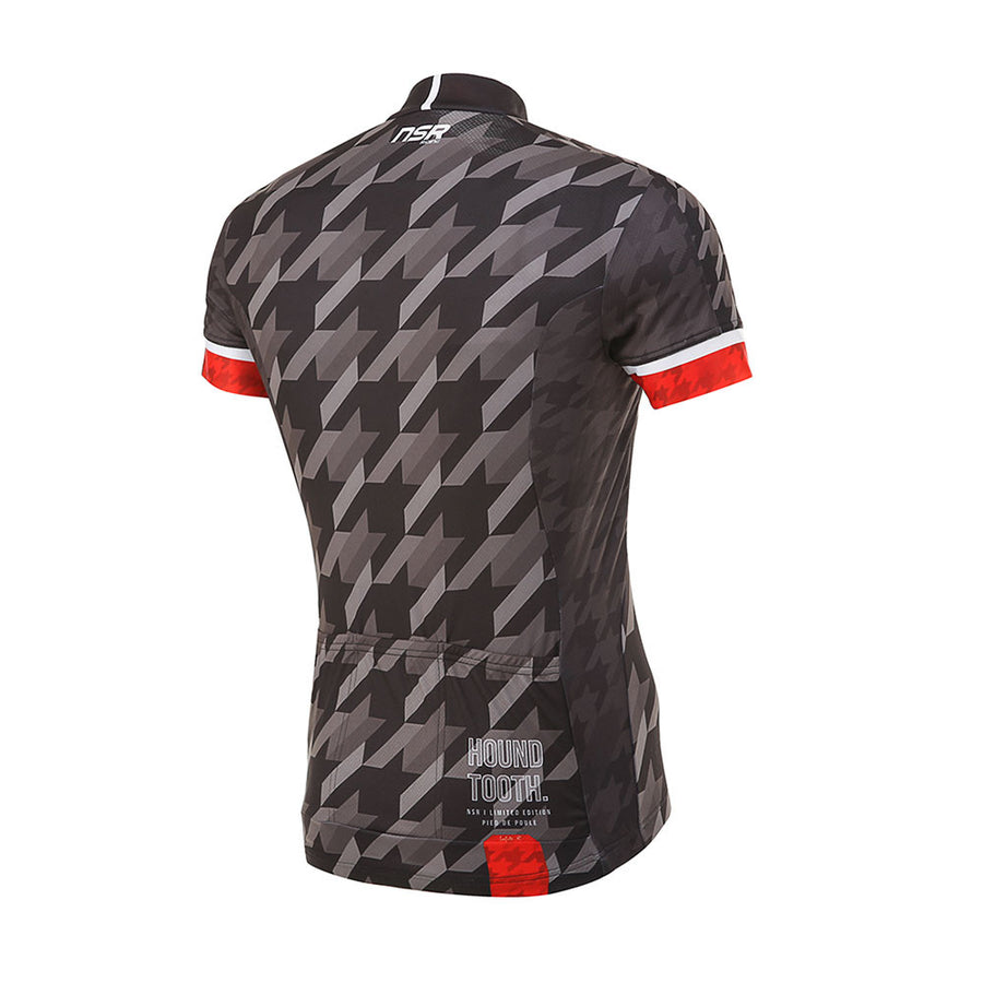HOUND TOOTH SHORT SLEEVE JERSEY Mens