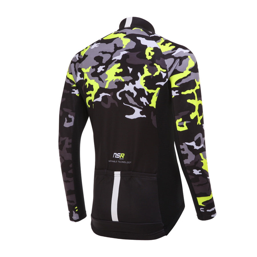 CAMOU LONG SLEEVE JERSEY Mens