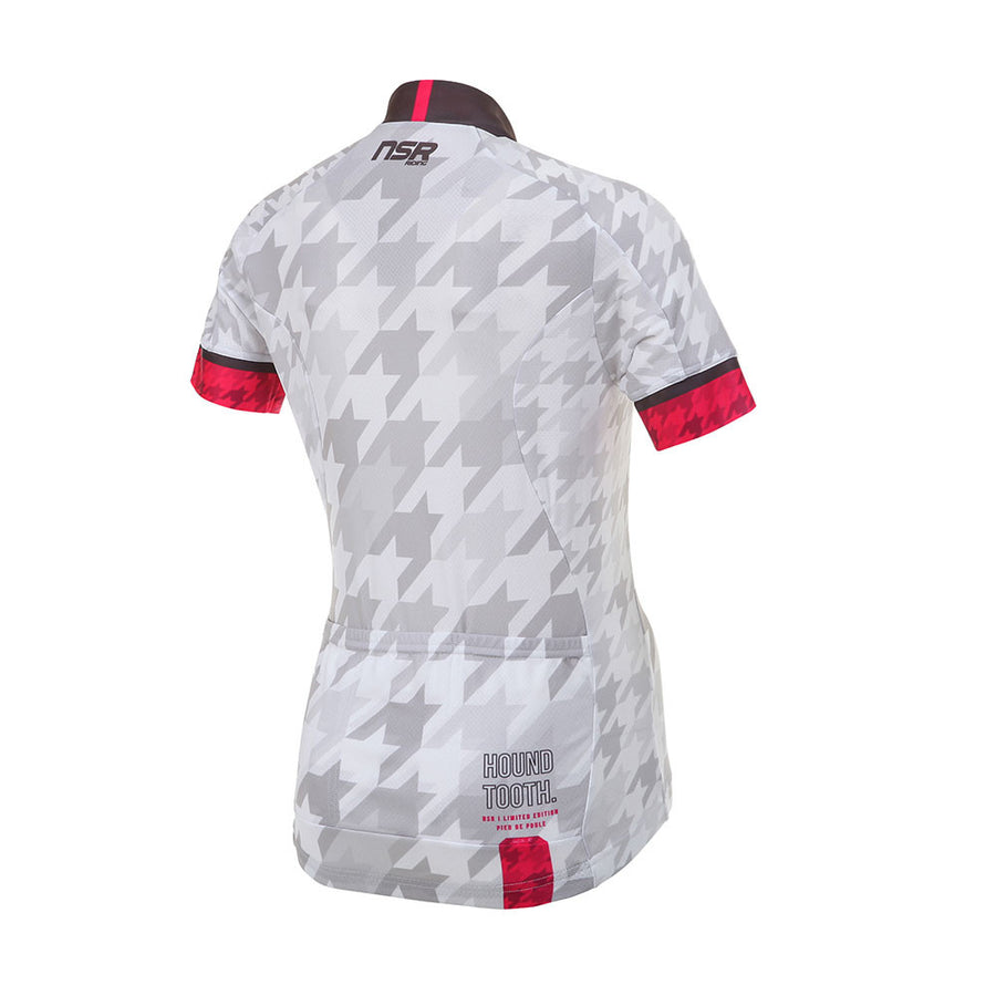 HOUND TOOTH SHORT SLEEVE JERSEY - Womens