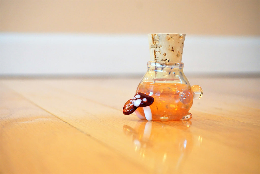 Handmade Glass Jar